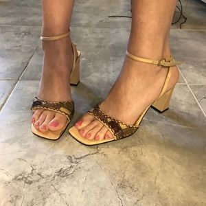 STUNNING Vintage Beaded Heels